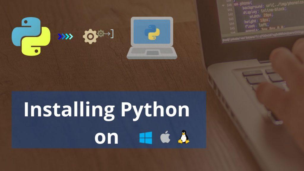 install python on windows mac and linux