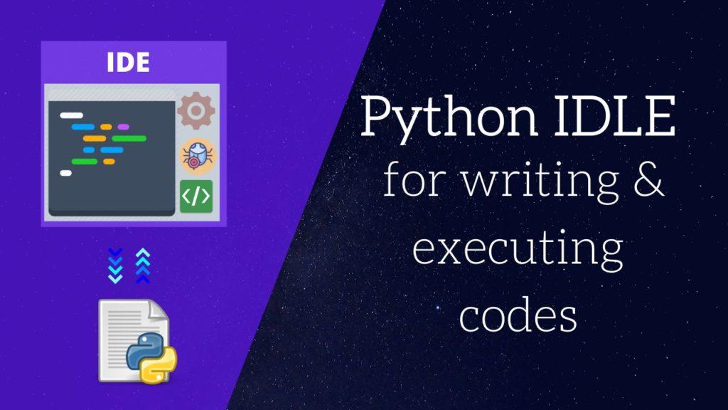 python idle fm