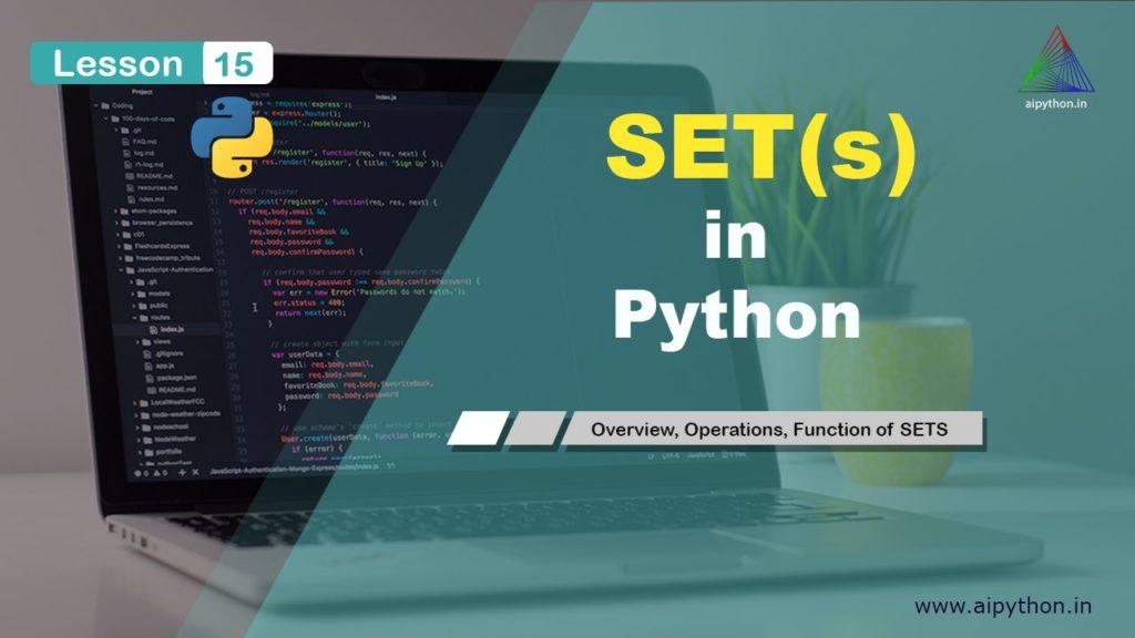 Python sets