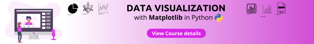 data visualization matploltib in Python